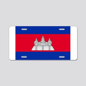 Cambodia - National Flag - Current Aluminum Licens