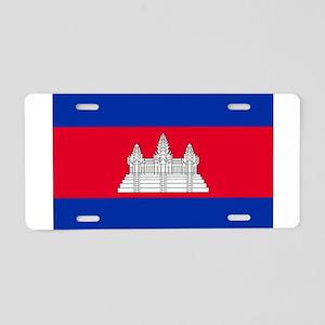 Cambodia - National Flag - Current Aluminum Licens