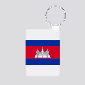 Cambodia - National Flag - Current Aluminum Photo