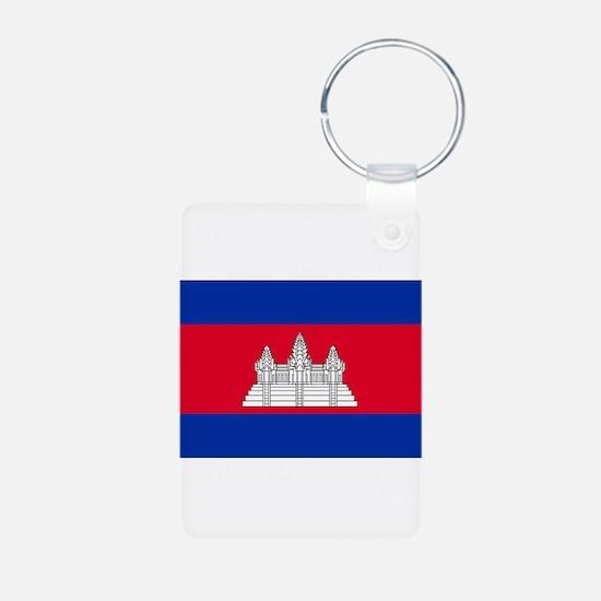 Cambodia - National Flag - Current Aluminum Photo