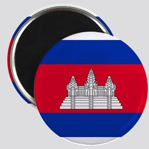 Cambodia - National Flag - Current Magnet