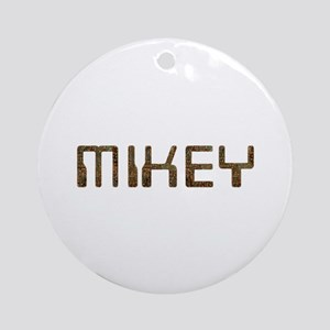 Mikey Circuit Round Ornament