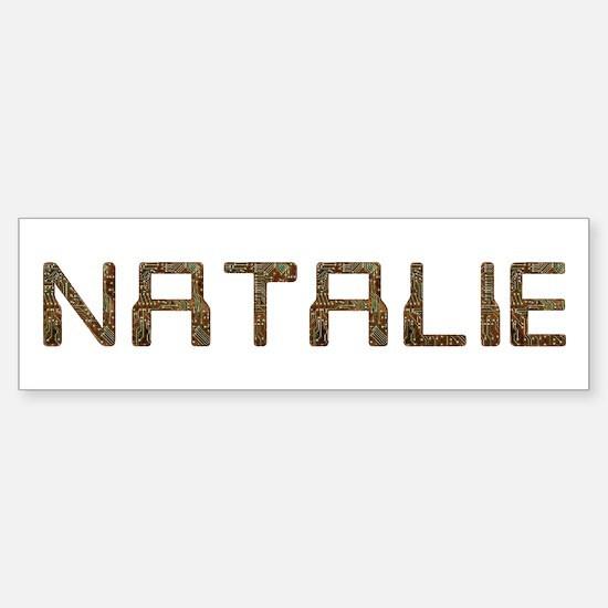 Natalie Circuit Bumper Bumper Bumper Sticker