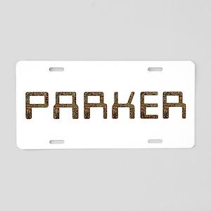 Parker Circuit Aluminum License Plate