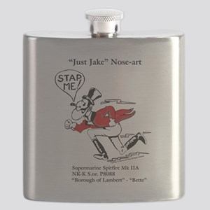 Just Jake Noseart Flask