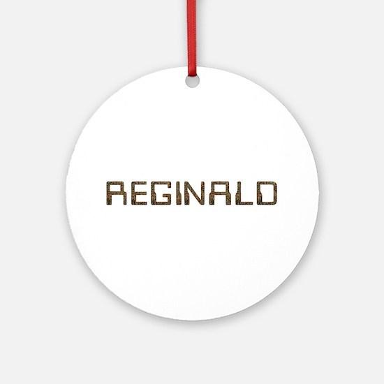 Reginald Circuit Round Ornament