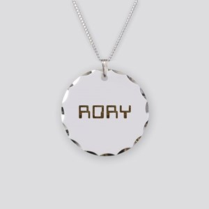 Rory Circuit Necklace Circle Charm