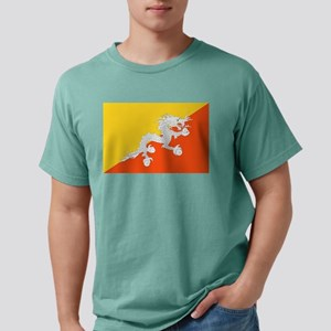 Bhutan - National Flag - Current Mens Comfort Colo