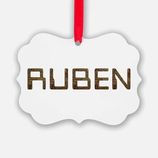 Ruben Circuit Ornament