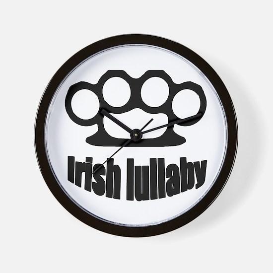 Irish lullaby Wall Clock
