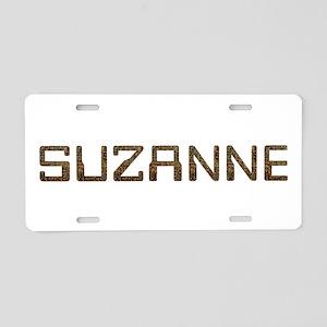 Suzanne Circuit Aluminum License Plate