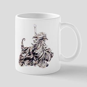 Afghan Hound Carousel I Mug