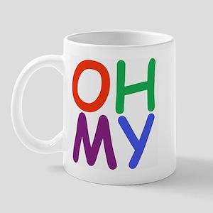 Oh My! Right-handed Mug