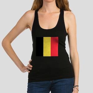 Belgium - National Flag - Current Racerback Tank T