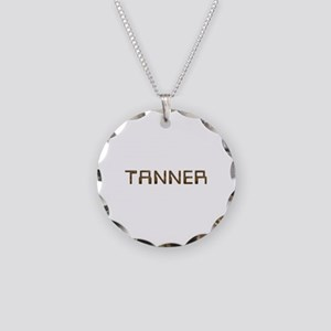 Tanner Circuit Necklace Circle Charm