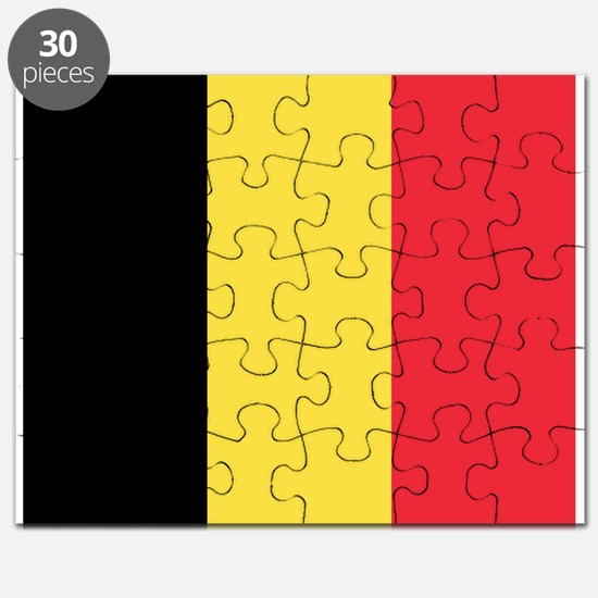 Belgium - National Flag - Current Puzzle