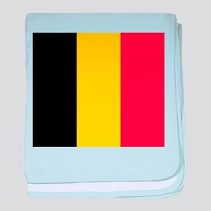 Belgium - National Flag - Current baby blanket