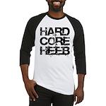 Hard Core Hebrew Rough B&W Baseball Jersey