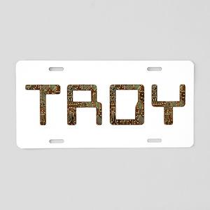 Troy Circuit Aluminum License Plate