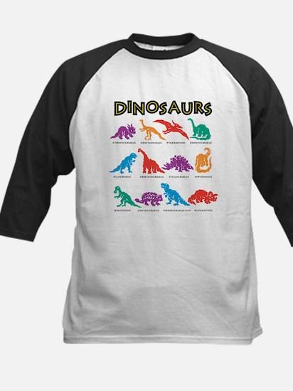 dinosaurs Baseball Jersey