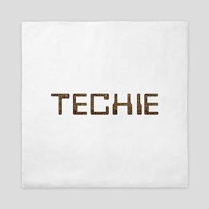 Techie Circuit Queen Duvet