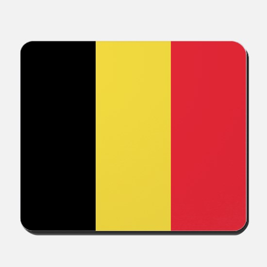 Belgium - National Flag - Current Mousepad