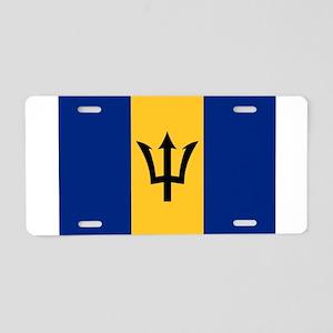Barbados - National Flag - Current Aluminum Licens