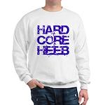 Hard Core Hebrew Rough Blue Sweatshirt
