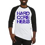 Hard Core Hebrew Rough Blue Baseball Jersey