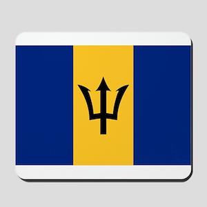 Barbados - National Flag - Current Mousepad