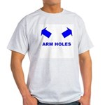 Head Hole Ash Grey T-Shirt