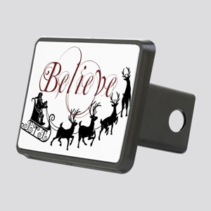 Believe Rectangular Hitch Cover