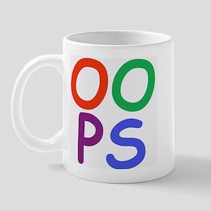 Oops! Right-handed Mug