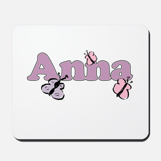 Anna Butterfly Mousepad