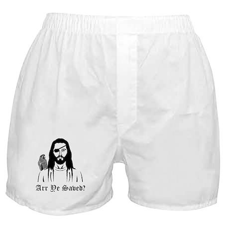 Pirate Jesus Boxer Shorts