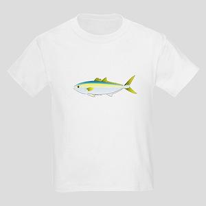 California Yellowtail fish Kids Light T-Shirt
