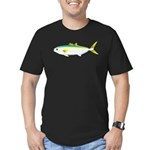 California Yellowtail fish Men's Fitted T-Shirt (d
