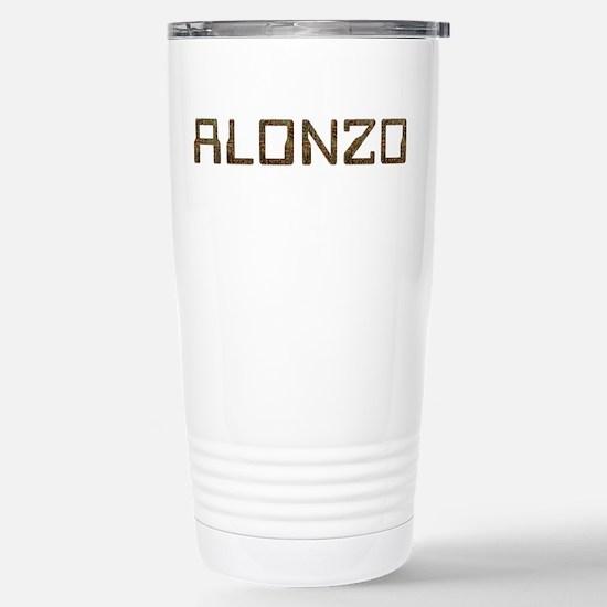 Alonzo Circuit Stainless Steel Travel Mug