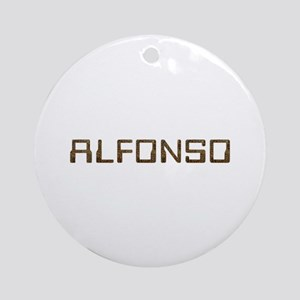 Alfonso Circuit Round Ornament