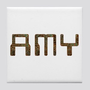 Amy Circuit Tile Coaster