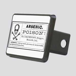Arsenic Label Rectangular Hitch Cover