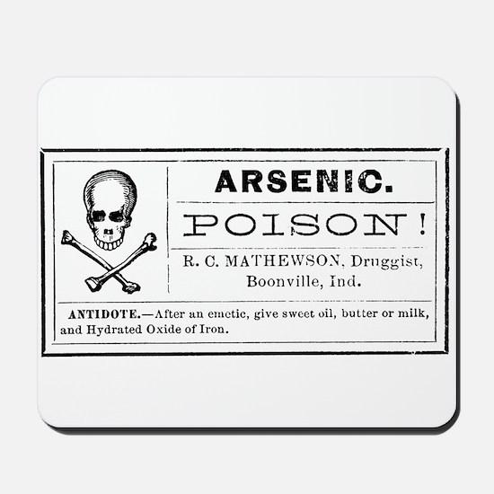 Arsenic Label Mousepad