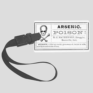 Arsenic Label Large Luggage Tag