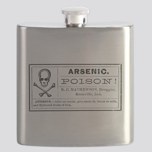 Arsenic Label Flask
