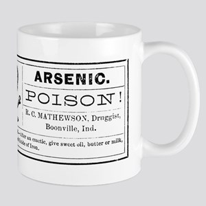Arsenic Label Mug
