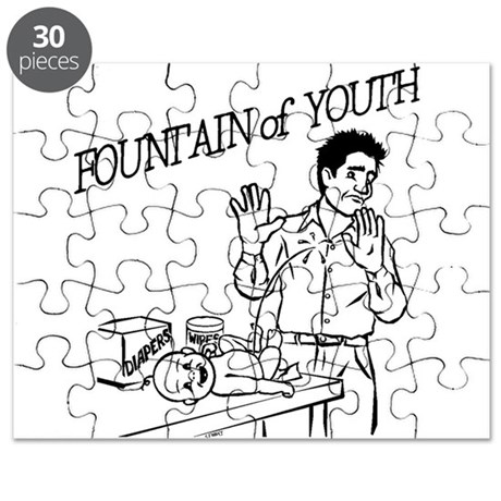 """Fountain of Youth"" Puzzle"