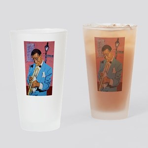 Satchmo on Bourbon Street Drinking Glass