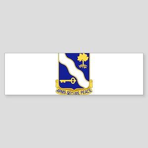 143rd Infantry Regiment Bumper Sticker