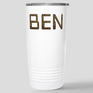 Ben Circuit Stainless Steel Travel Mug
