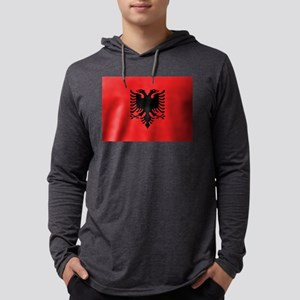 Albania - National Flag - Current Mens Hooded Shir